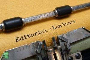 Editorial by Ken Vance