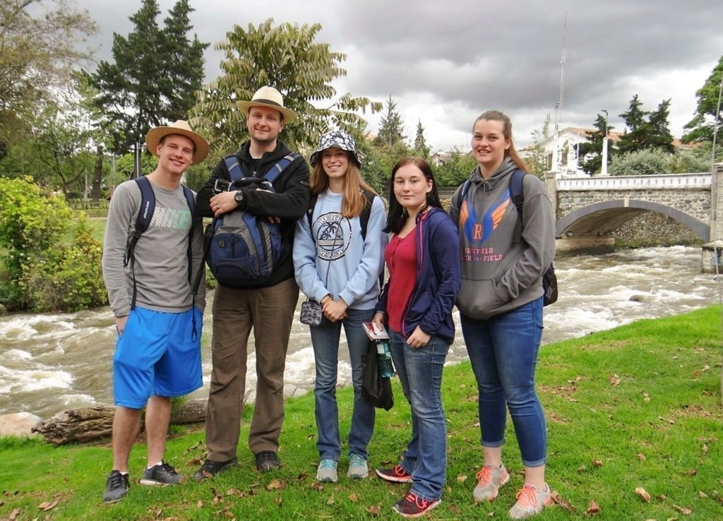 Ridgefield High School students experience Latin American culture firsthand