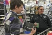 Battle Ground kids shop with a cop over the weekend