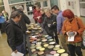 Woodland Ceramic Club's Empty Bowls event raises nearly $3,000