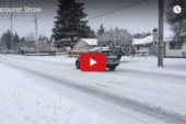 County crews out plowing roads in response to heavy snowfall
