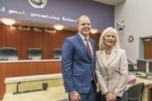 Blom, Quiring assume seats on Board of County Councilors