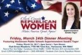 Hockinson Superintendent Sandra Yager to provide keynote address at Republican Women's Dinner