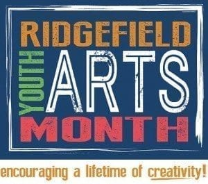 Ridgefield School District is celebrating Youth Arts Month during the entire month of March. For classes and events, visit the Community Education page on the district's website at www.ridgefieldsd.org and click on Ridgefield Youth Arts Month 2018 Catalog. Logo courtesy of Ridgefield School District