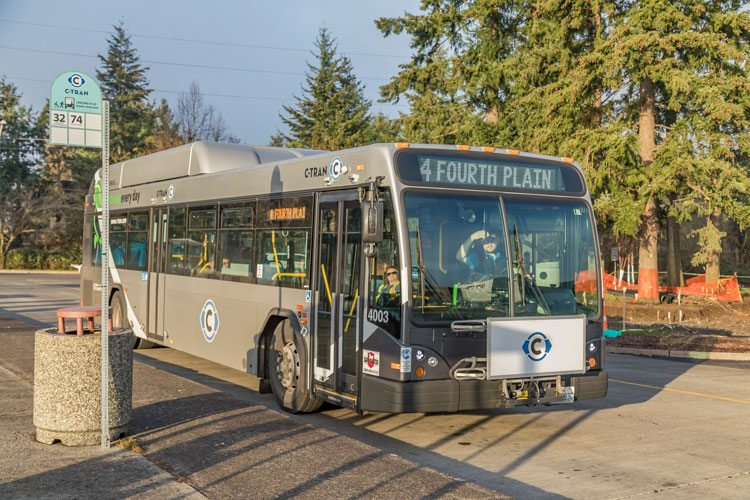"""C-TRAN is inviting Clark County residents to """"dump the pump"""" and take public transportation on June 15, as part of national Dump the Pump Day. Photo by Mike Schultz"""
