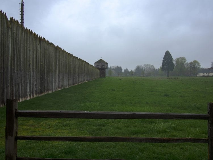 Fort Vancouver is the namesake for Clark County's largest city, but the town wasn't always named Vancouver. Photo courtesy of Karen Neoh