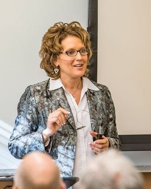 Rep. Liz Pike recently completed a series of three Transportation Congestion Solutions Legislative Town Hall meetings. Photo by Mike Schultz