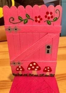 Fairy Doors will be hidden throughout Camas in downtown businesses – attendees can find them and be entered to win. Fairy Doors created and donated by Vancouver WA Fairy Doors. Photo courtesy of Downtown Camas Association