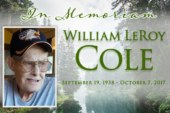 In Memory of William LeRoy Cole