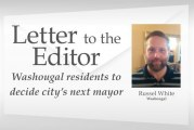 Letter: Washougal residents to decide city's next mayor