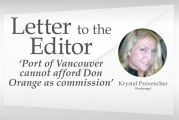 'Port of Vancouver cannot afford Don Orange as commissioner'