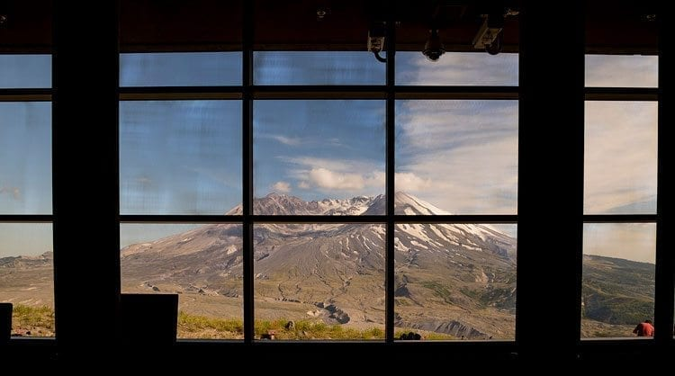 This view of Mount St. Helens was taken from the Johnston Ridge Observatory in June. Area residents will have their last chance of the season to view the mountain from Johnston Ridge this weekend before officials close the upper reaches of the Spirit Lake Memorial Highway. Photo by Mike Schultz
