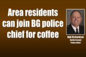 Area residents can join BG police chief for coffee