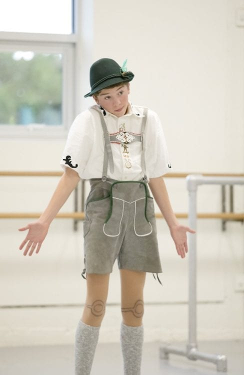 Tyler Stanley, 14, of Camas, is performing in The Portland Ballet's The Enchanted Workshop on Thanksgiving Weekend. He and his identical twin brother Joey will be rotating in the central role of Pinocchio. Photo courtesy of Blaine Truitt Covert
