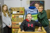 Woodland Middle School students give back to their community