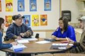 Woodland Public Schools staff members learn spanish