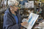 Local artist spreads hope with steel and glass