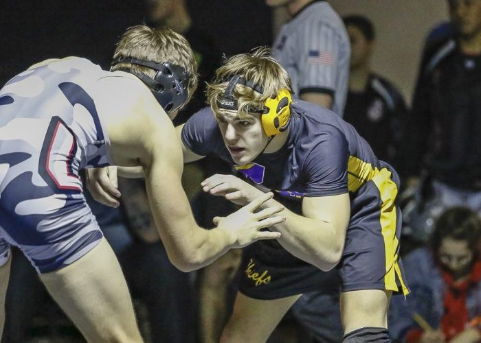Kyle Brosius of Union defeated Logan Knudson of Columbia River