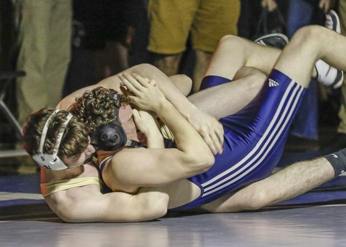 Dylan Goodpaster of Evergreen defeated Chandler Wann of King's Way Christian