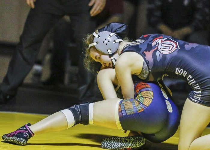 Kayla Brosius of Union defeated Trinity Lien of Kelso