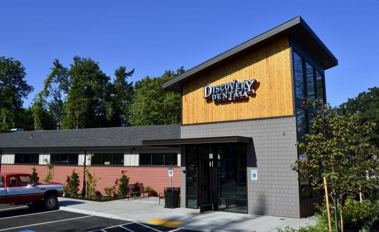 In August 2017, Discovery Dental moved into their new Washougal location to accommodate their needs for a larger area to serve more patients. Photo courtesy of Brooke Strickland