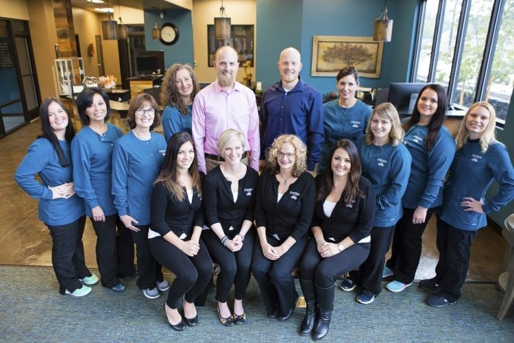 In 2011, Tom Stinchfield joined the Discovery Dental practice in Washougal, teaming with brother Dave. Today, the dentist duo has a team of 12 employees to help serve their growing patient base. Photo courtesy of Brooke Strickland
