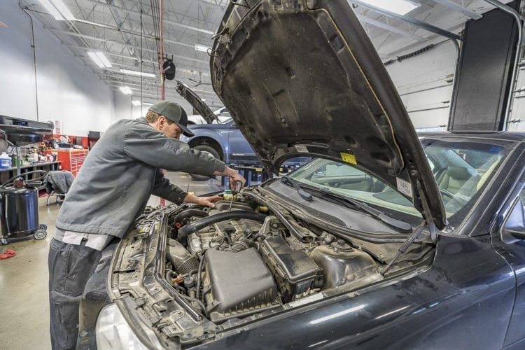 One of the reasons for the success of Gaynor's Automotive is that over the years the business has been able to adapt to changes in automotive technology and the technicians on staff continue to do just that. Photo by Mike Schultz