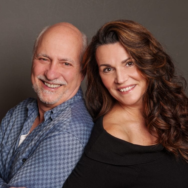 The Diaries of Adam and Eve will be performed at Love Street Playhouse Feb. 9-18. The two-person comedy features newlyweds Lou Pallotta as Adam and Melinda Pallotta as Eve. Photo courtesy of Darcie Elliott Photography
