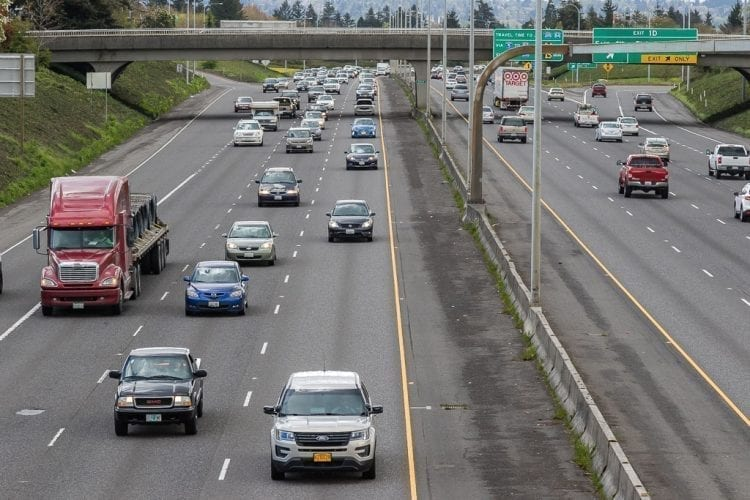 Washington drivers experienced 83 percent more delays throughout area corridors in 2016 than they did in 2014 according to the 2017 Corridor Capacity Report published by the Washington State Department of Transportation. Photo by Mike Schultz