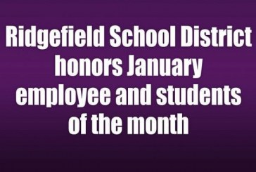 Ridgefield School District honors January Employee and Students of the Month