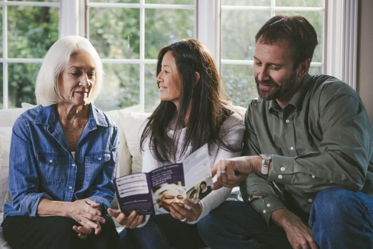 The Oregon chapter of the Alzheimer's Association will host four community education classes in February and March that are designed to help people better understand the disease and its effects, as well as how to care for those that may have the disease. Photo courtesy of the Alzheimer's Association, Oregon Chapter