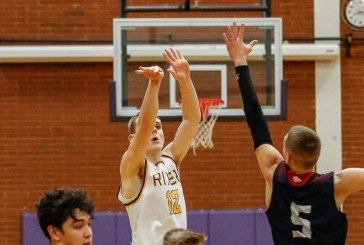 Playoff basketball: Columbia River boys get wild win to cap busy Saturday