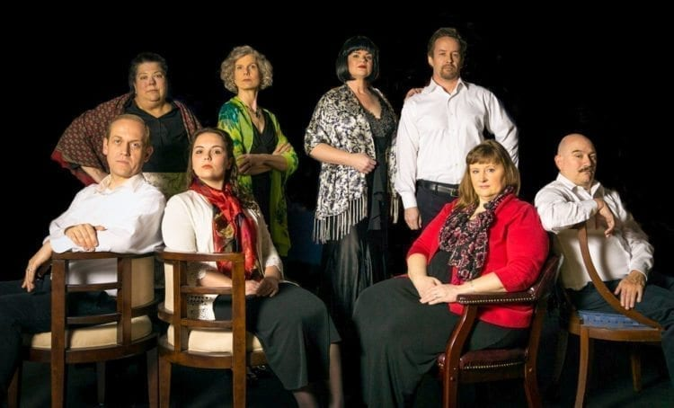 "Tickets will go on sale Mon., March 5 for Magenta Theater's upcoming Black Chair Project entitled ""Enchanted April,'' a story of love, friendship and rediscovery. Photo courtesy of Magenta Theater"