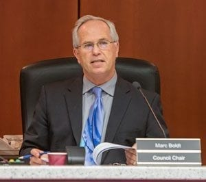 Councilor Marc Boldt, chair of the county council, will present remarks at the 2018 State of the County event to be held Wed., Feb. 21 at the Clark County Fairgrounds. Photo by Mike Schultz