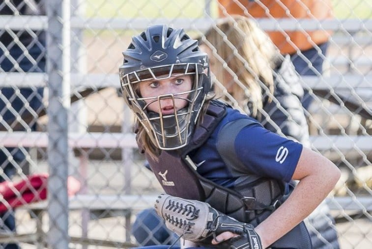 HS softball: Skyview's scientist behind the plate