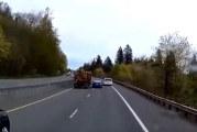 Dashcam captures dangerous pass on SR-14 in Camas
