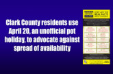 Clark County residents use April 20, an unofficial pot holiday, to advocate against spread of availability