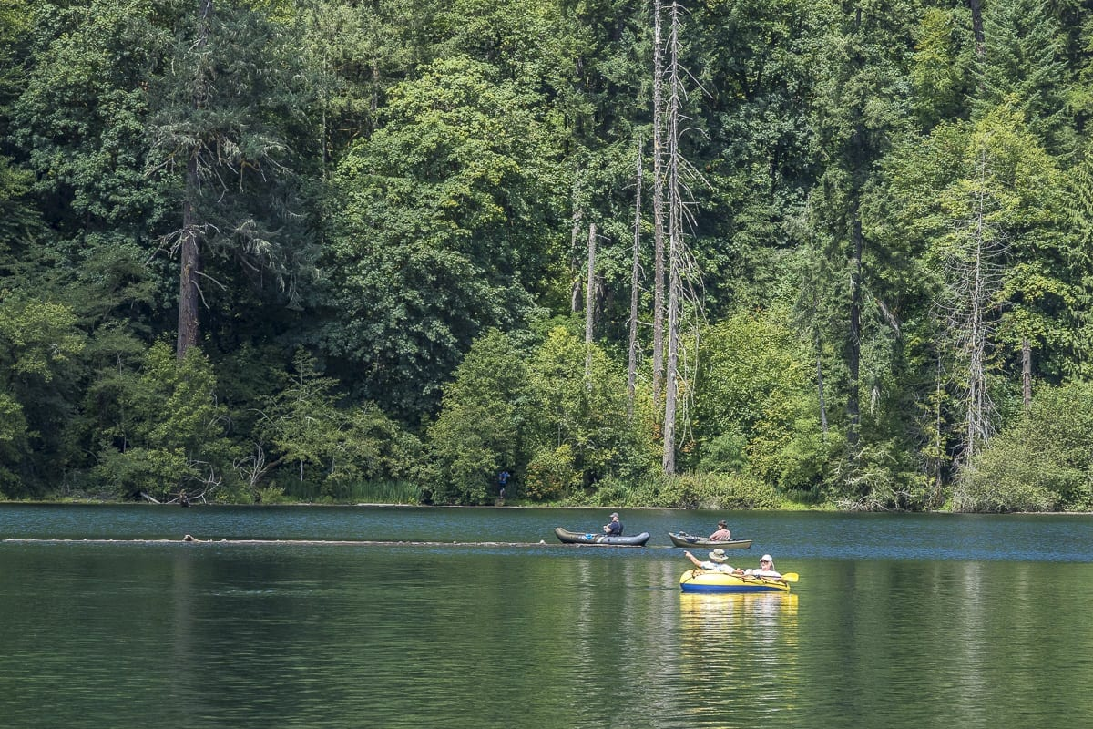 People enjoy the waters of Battle Ground State Park in this file photo. Photo by Mike Schultz
