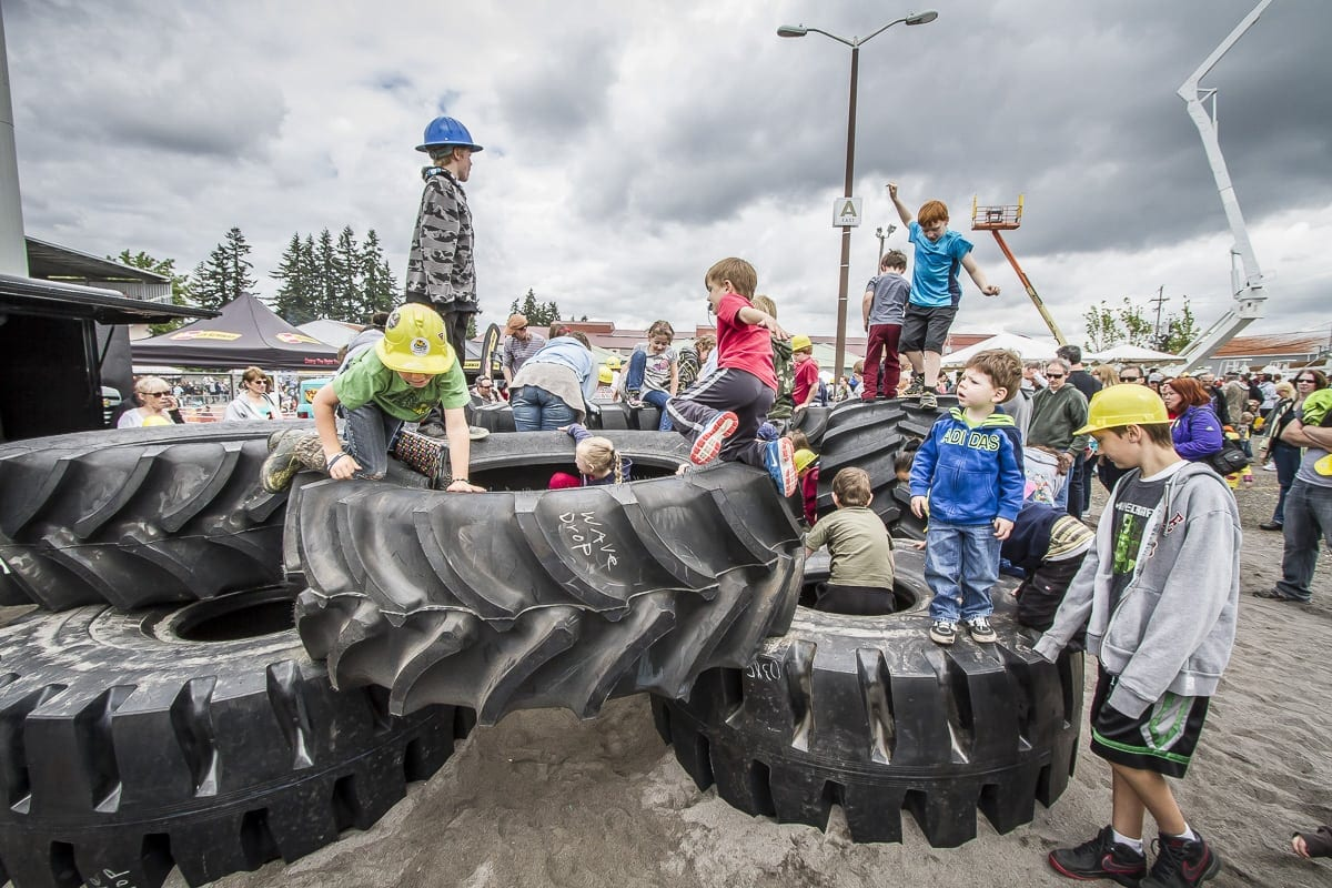 For those not interested in operating machines at Dozer Day, there will also be a scavenger hunt, music entertainment, food and drinks, a shooting for prizes game, and a diamond dig, complete with real gemstones. Photo by Mike Schultz