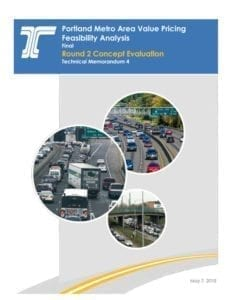 This is the full 147-page analysis by ODOT and consulting firm WSP presented at their May 14 meeting. Document courtesy ODOT