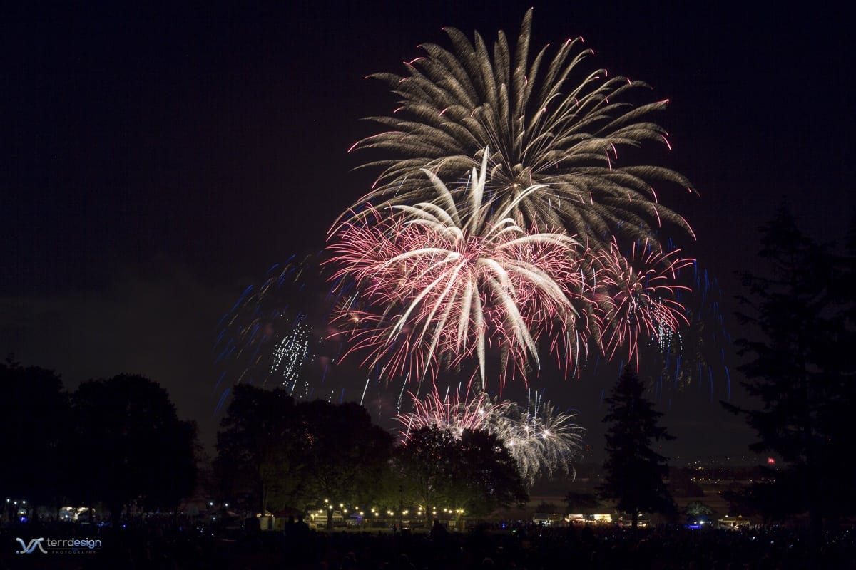 """The general public will be able to """"celebrate freedom for free"""" this year on the 4th of July, with no admission charge to Vancouver's Fireworks Spectacular at Fort Vancouver National Historic Site. Photo courtesy of The Historic Trust"""