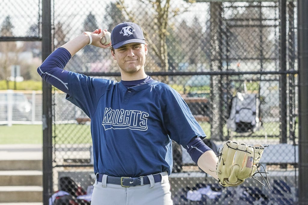 Damon Casetta-Stubbs, a senior at King's Way Christian, was selected by the Seattle Mariners in the 11th round of Major League Baseball's draft. A right-handed pitcher, Casetta-Stubbs said he intends to sign with the Mariners soon. Photo by Mike Schultz