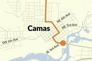 New pavement and better sidewalk connections coming to SR 500 in Camas