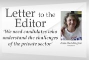 Letter: 'We need candidates who understand the challenges of the private sector'