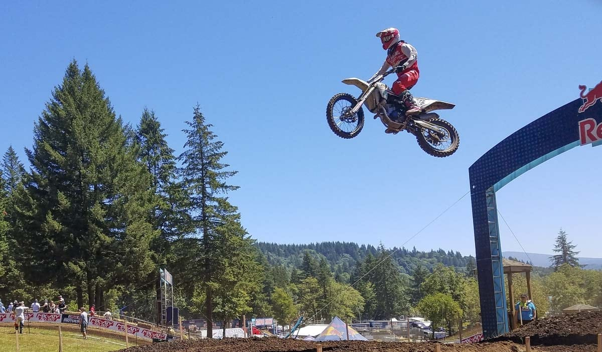 The best motocross riders in the world will be in Washougal for Saturday's Motosport.com Washougal National. This is the 38th Washougal National. Photo by Paul Valencia