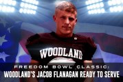 Freedom Bowl Classic: Woodland's Jacob Flanagan ready to serve