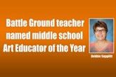 Battle Ground teacher named middle school Art Educator of the Year