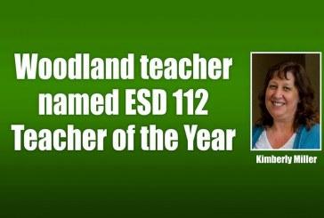 Woodland teacher named ESD 112 Teacher of the Year