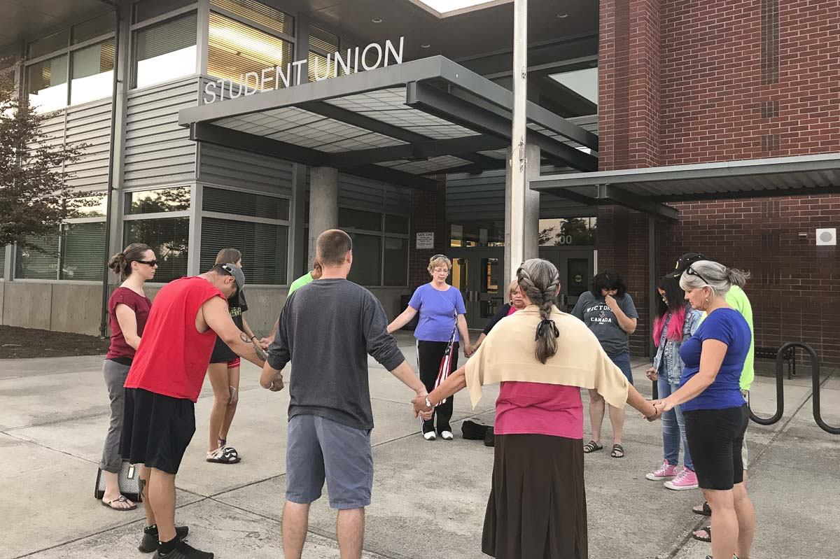 For the fourth consecutive year, Clark County Prayer Connect is inviting members of the community to join them to pray for students returning to area high schools. The event will take place Aug. 19-22. Photo courtesy of Clark County Prayer Connect