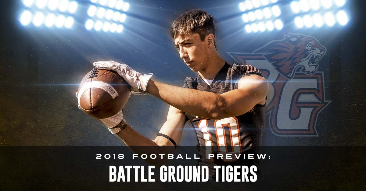Battle Ground's Boden Strouse was told he would miss all of his junior season due to an injury. He pushed himself, though, to be with his team for the final week of the year and got to celebrate a victory. Photo by Mike Schultz. Edited by Andi Schwartz.
